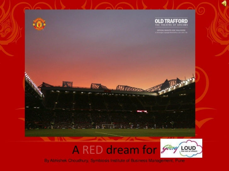 A RED dream forBy Abhishek Choudhury, Symbiosis Institute of Business Management, Pune
