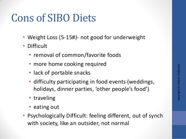 Sibo and scleroderma handout