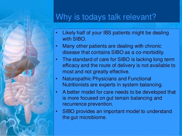 Small Intestinal Bacterial Overgrowth Update 2015 Slide 3