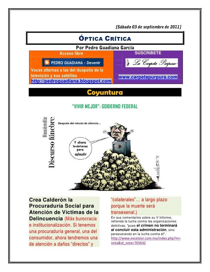 ÓPTICA CRÍTICA              Acceso libre                            SUSCRIBETEVoces alternas a las del duopolio de latelev...