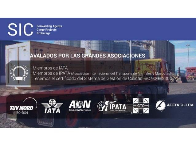 Presentación Sistemes Internacionals De Càrrega