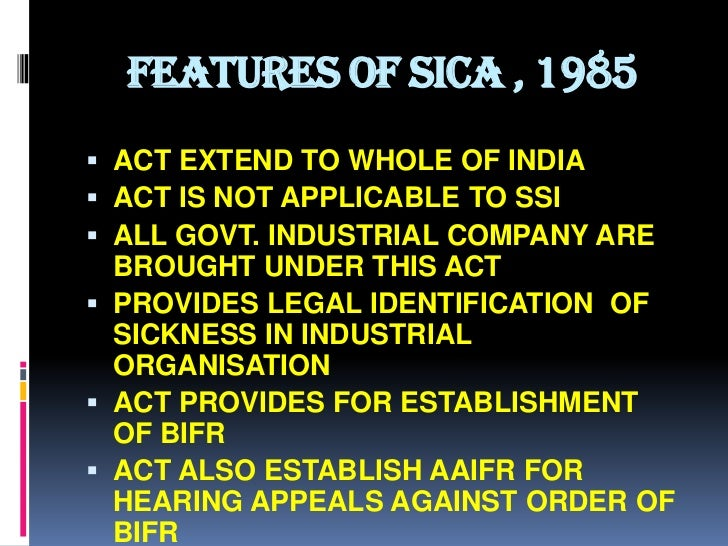 Government finally repeals SICA 13 years after repeal Act was passed