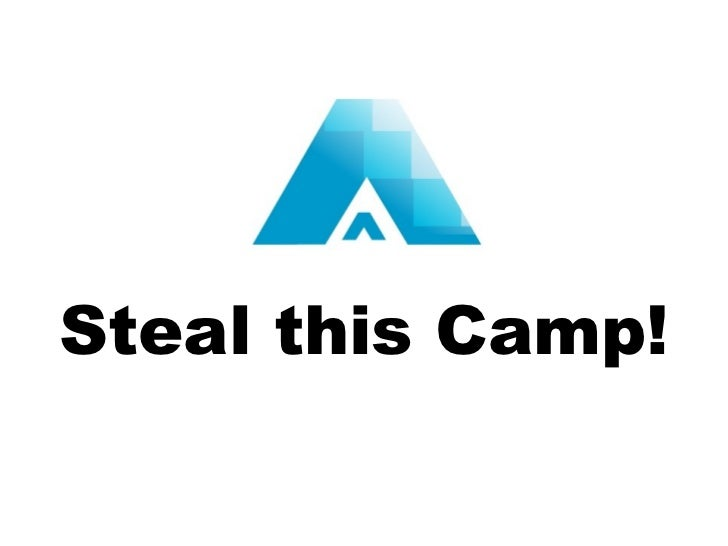 Steal this Camp!