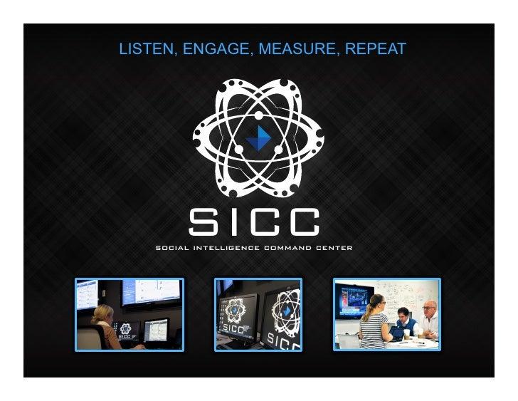 "Edelman's ""SICC"" (Social Intelligence Command Center)"