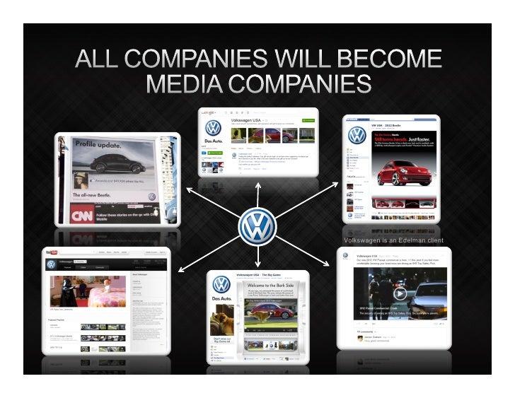 Volkswagen is an Edelman client