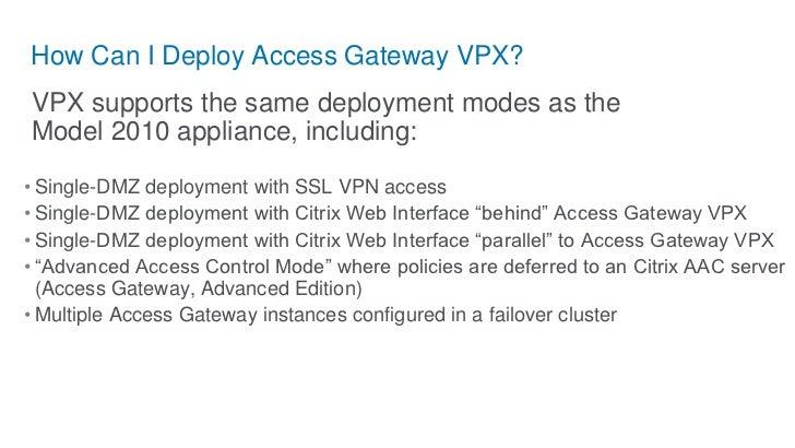 Sichere Bereitstellung von virtuellen Desktops mit Citrix