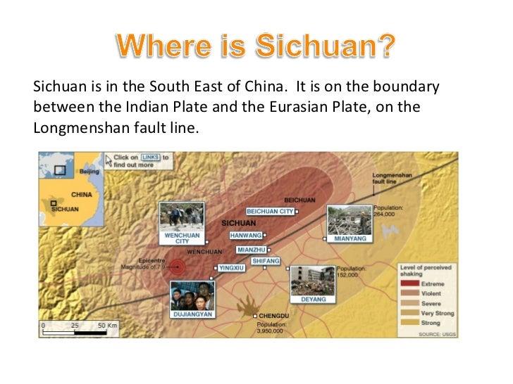 sichuan earthquake case study