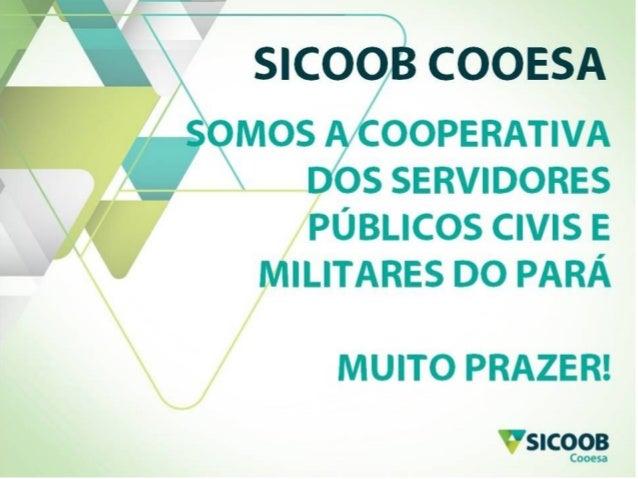 Apresentação Comercial - Sicoob Cooesa