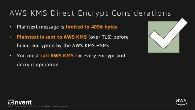 SID345-AWS Encryption SDK The Busy Engineer's Guide to