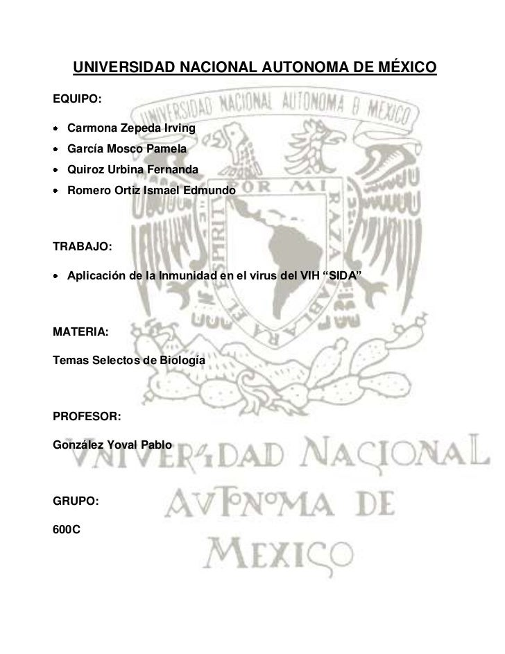 -100965336033UNIVERSIDAD NACIONAL AUTONOMA DE MÉXICO<br />EQUIPO:<br />Carmona Zepeda Irving<br />García Mosco Pamela<br /...