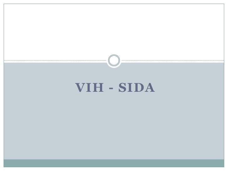 Vih - sida<br />