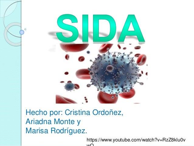 Hecho por: Cristina Ordoñez, Ariadna Monte y Marisa Rodríguez. https://www.youtube.com/watch?v=RzZ8klu0v