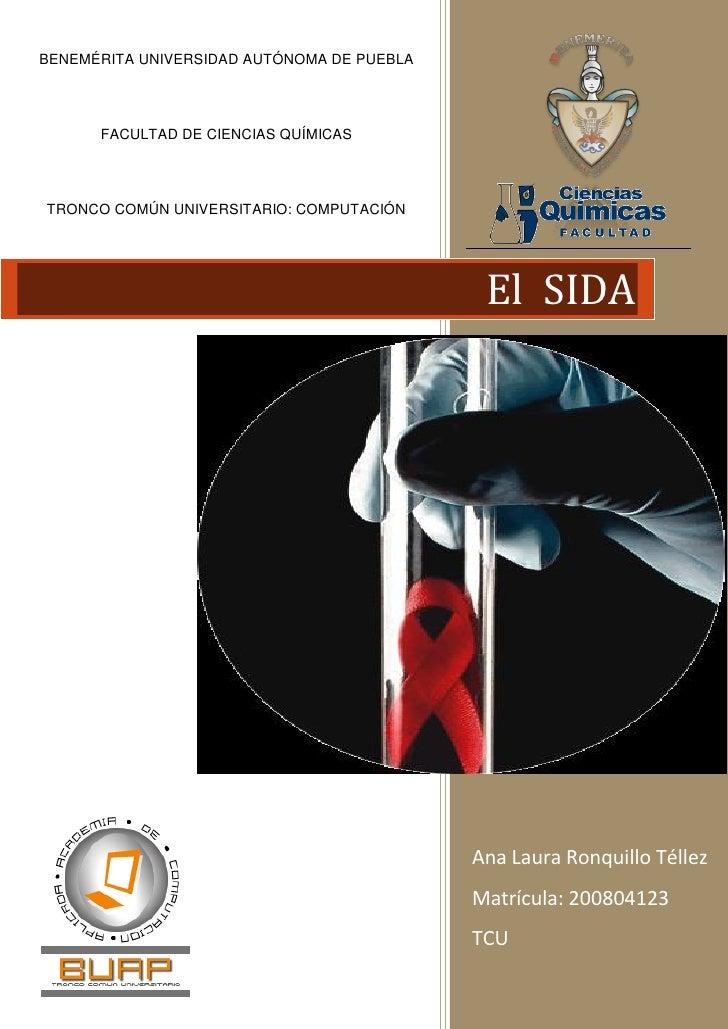 BENEMÉRITA UNIVERSIDAD AUTÓNOMA DE PUEBLA           FACULTAD DE CIENCIAS QUÍMICAS     TRONCO COMÚN UNIVERSITARIO: COMPUTAC...