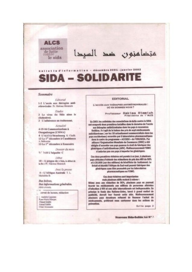 Sida Solidarité Magazine N°4