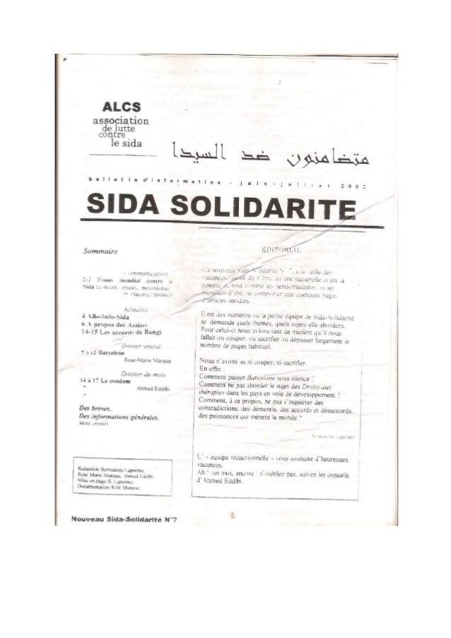 """L63     association  delutte  Contre.   1es1da L  .  . """" blllletintfinfarmatlon<juln«; u'i:3[ 209     Sommuire  -m. -:21/m..."""