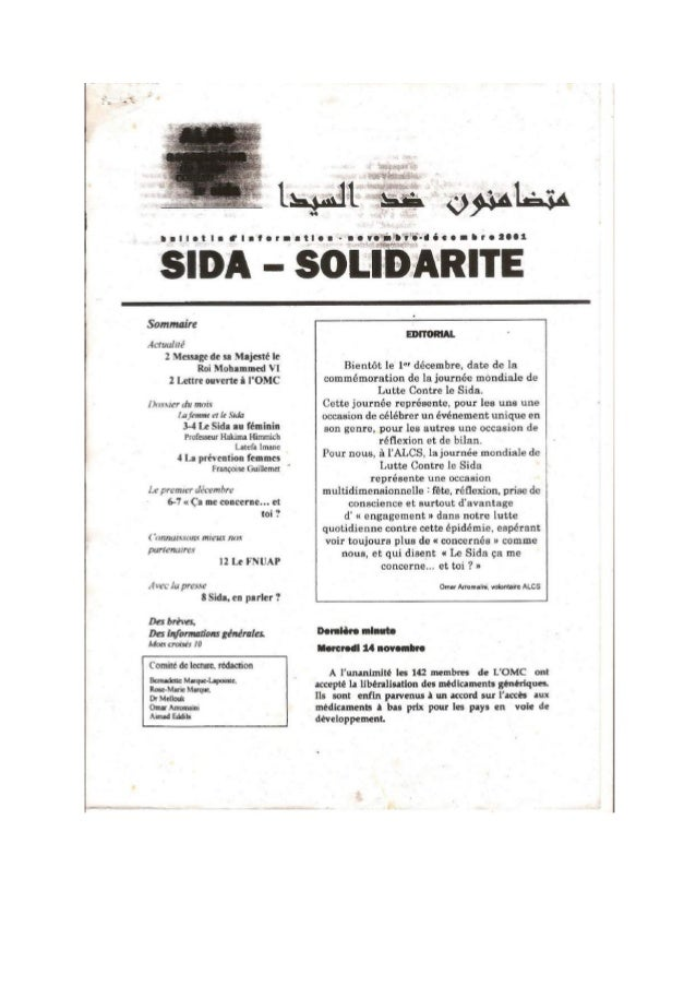 Sida Solidarité Magazine N°3