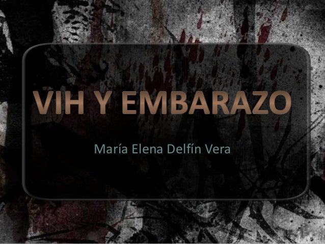 María Elena Delfín Vera