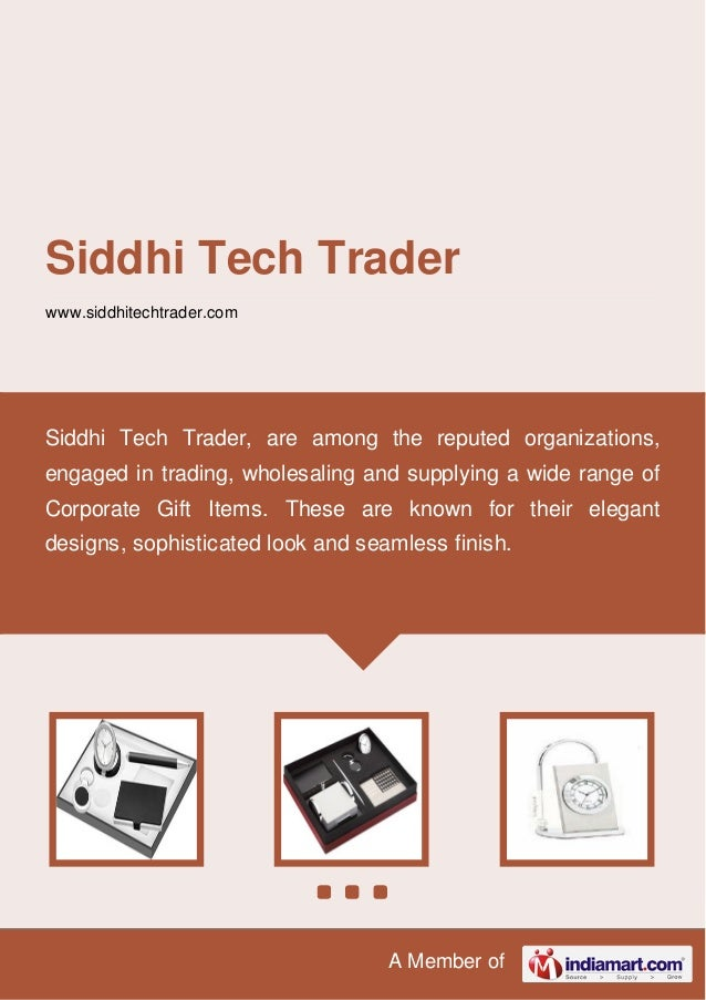 A Member of Siddhi Tech Trader www.siddhitechtrader.com Siddhi Tech Trader, are among the reputed organizations, engaged i...