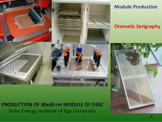 Manufacture Of Organic Photovoltaics