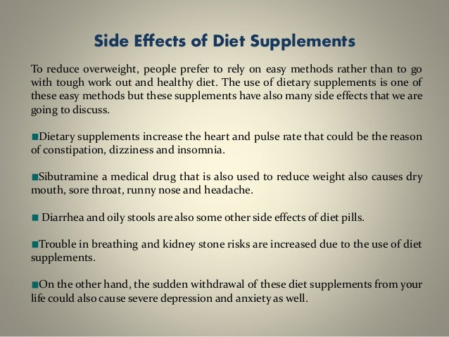 Negative Side Effects of a Low-Carb Diet