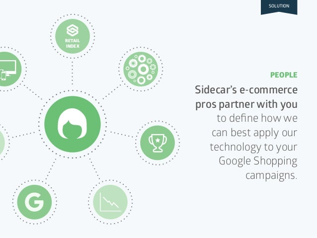 RETAIL INDEX Sidecar's e-commerce pros partner with you to define how we can best apply our technology to your Google Shopp...