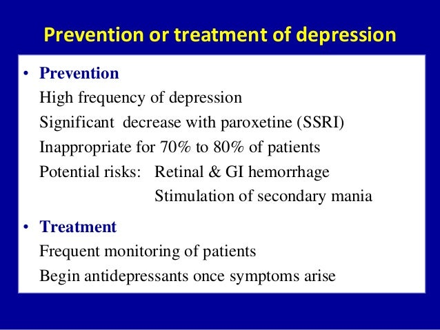 Depression Treatment & Management