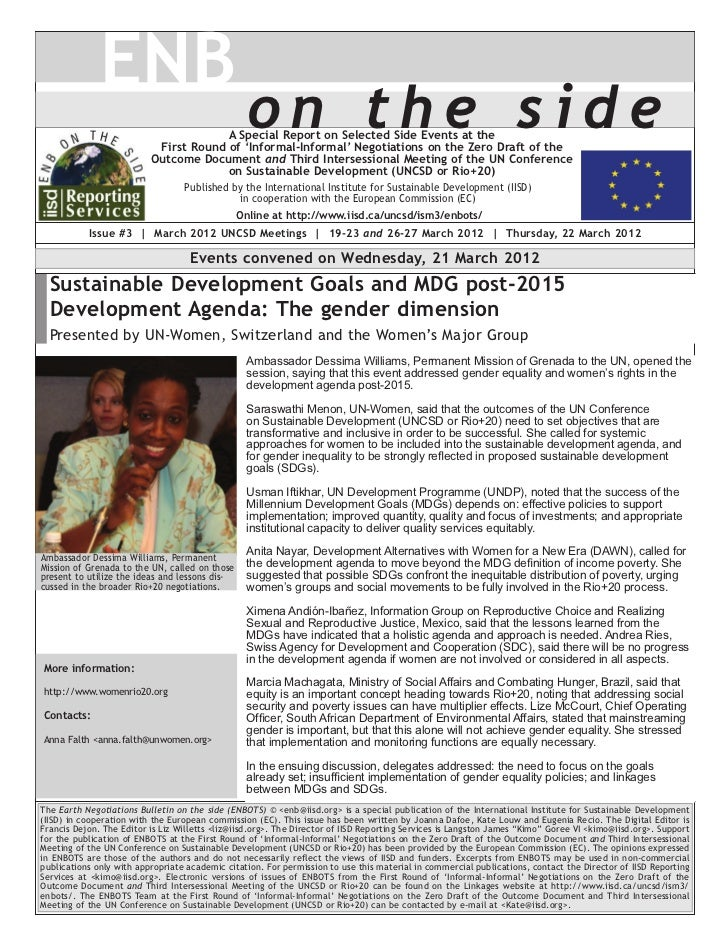 ENB                                                 on the side                                       A Special Report on ...
