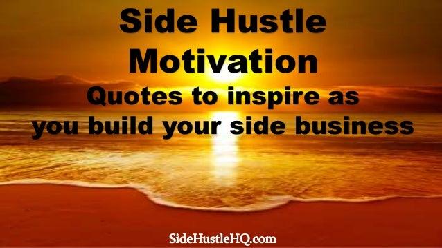 Side Hustle Motivation