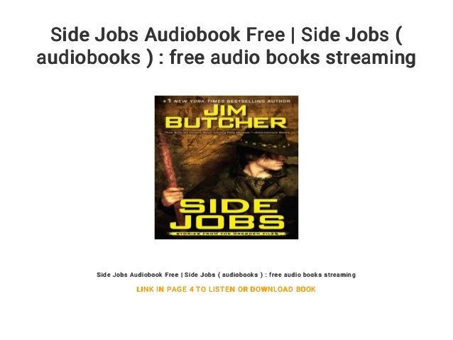 Side Jobs Audiobook Free | Side Jobs ( audiobooks ) : free