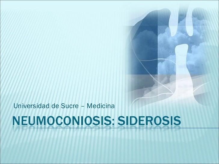 Universidad de Sucre – Medicina