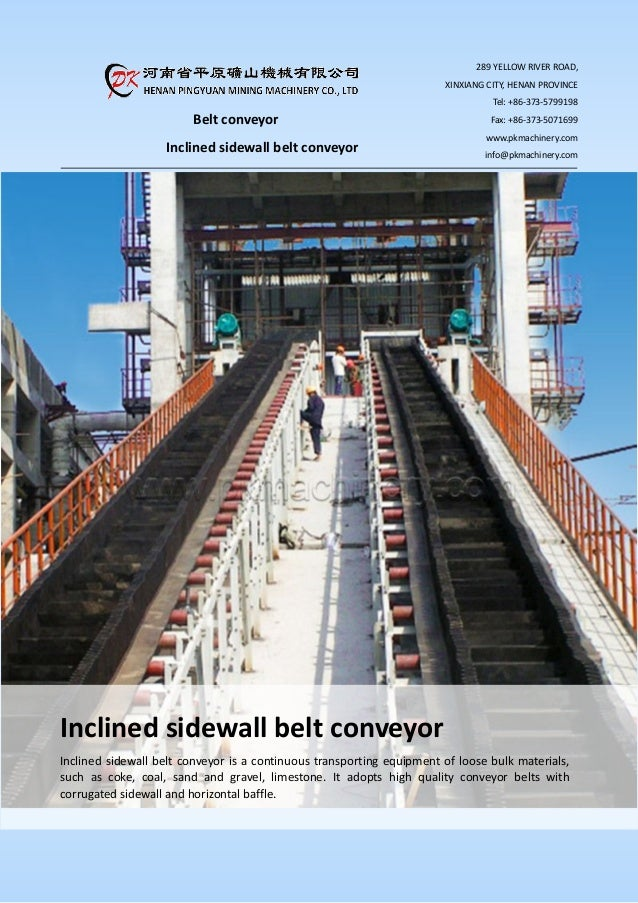Conveyors materials.pdf belt for bulk
