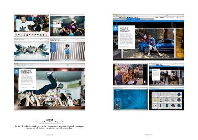 ADIDAS                           - Sid Lee et adidas célèbrent l'originalité -Le site web célèbre l'originalité en ligne. ...