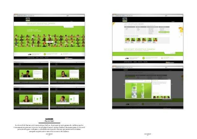 Garnier                                          - Fructis Style -  Le site web de Garnier a été renouvelé par Sid Lee: i...