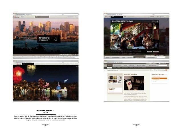 Tourisme Montréal                                            - Site web -Le nouveau site web de Tourisme Montréal permet a...
