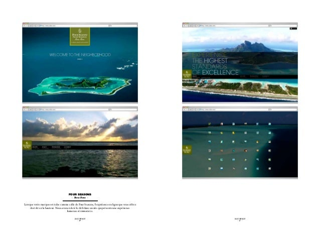 four seasons                                         - Bora Bora -Lorsque votre marque est riche comme celle de Four Seaso...