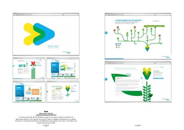 STM                                   - Mouvement collectif -      Le nouveau site web de la STM aide la marque et les usa...
