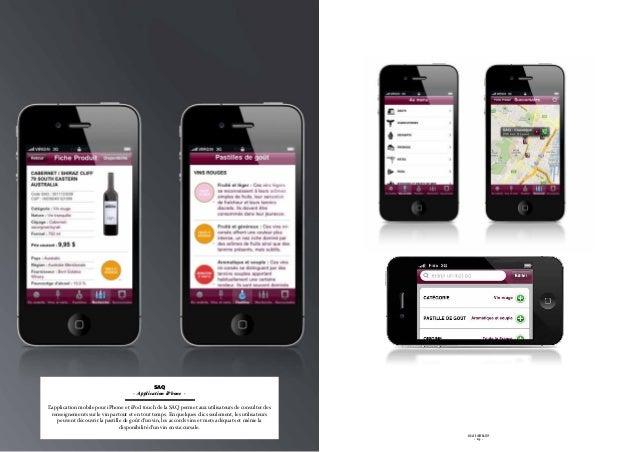 SAQ                                     - Application iPhone -L'application mobile pour iPhone et iPod touch de la SAQ per...
