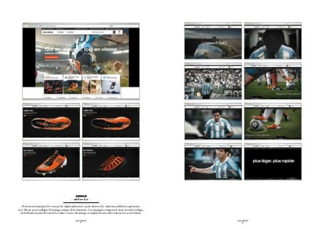 ADIDAS                                              - adiZero F50 -   Nous avons transposé le concept de «light makes fas...