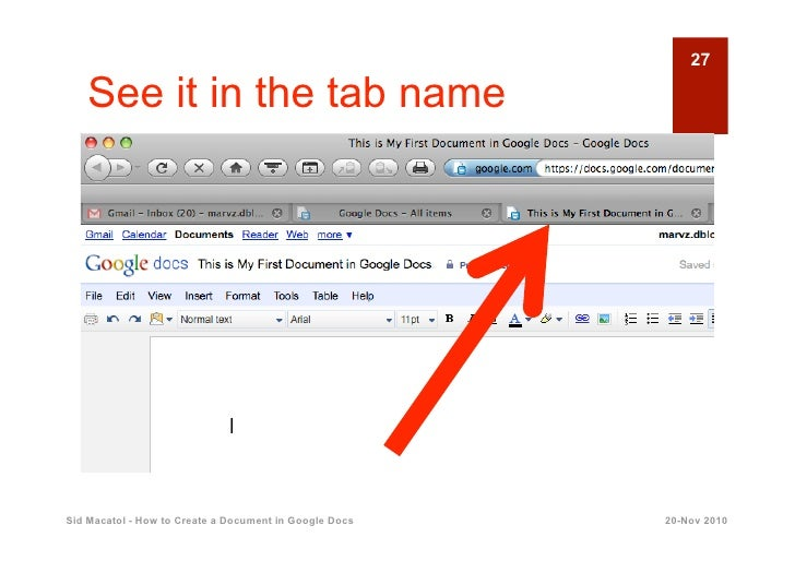 how to create document in google docs