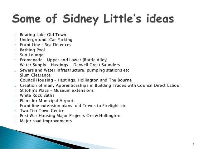 Sidney Little, Man of vision pp. Slide 3