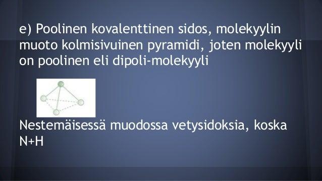 Pooliton Kovalenttinen Sidos