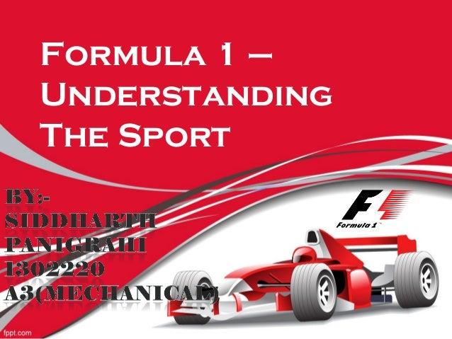 Formula 1 – Understanding The Sport