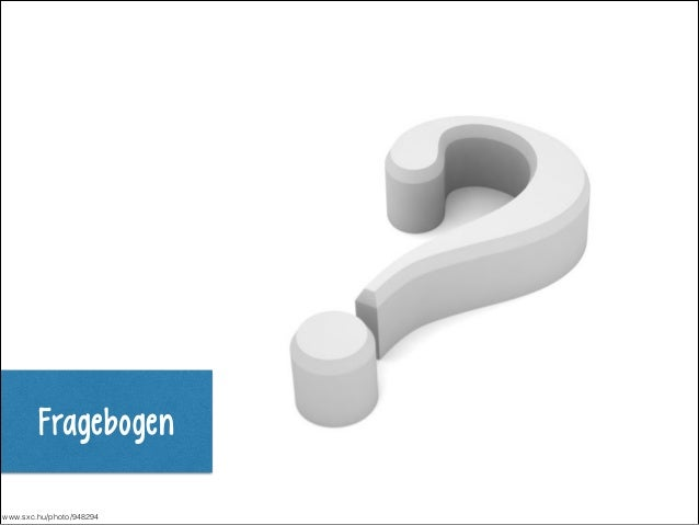 Fragebogen www.sxc.hu/photo/948294