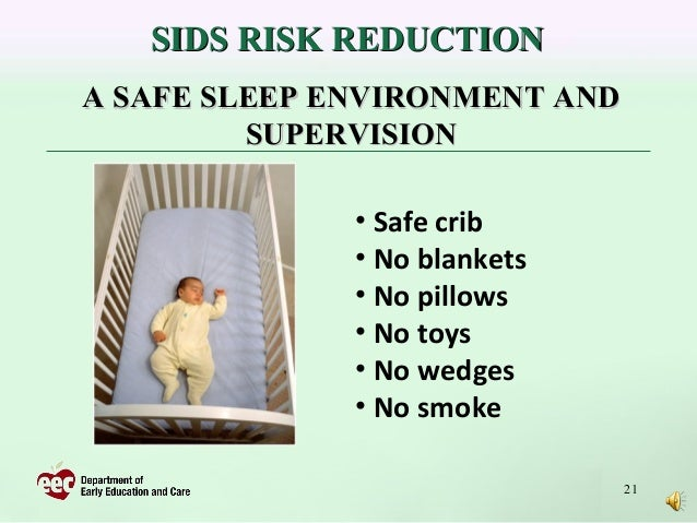 Reducing The Risk Of Sids In Child Care