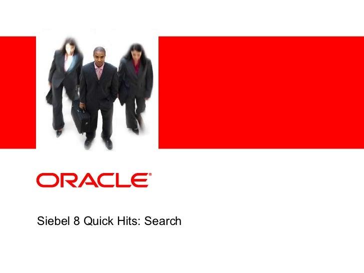 Siebel Oracle XE | knowing siebel