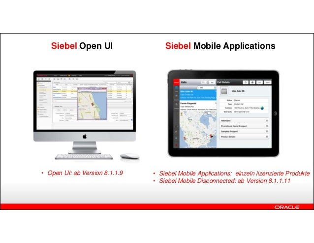 Siebel Open UI Presentation