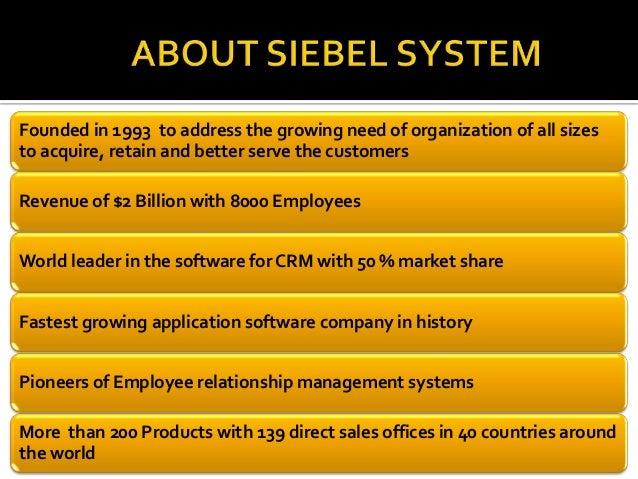 siebel systems anatomy of a sale part 3 Case-oriented syllabus vendors siebel systems: anatomy of a sale, part 1 503021 9p 503087 part 2 503022 part 3 503023 new york and boston, software, $2 billion, 1998.