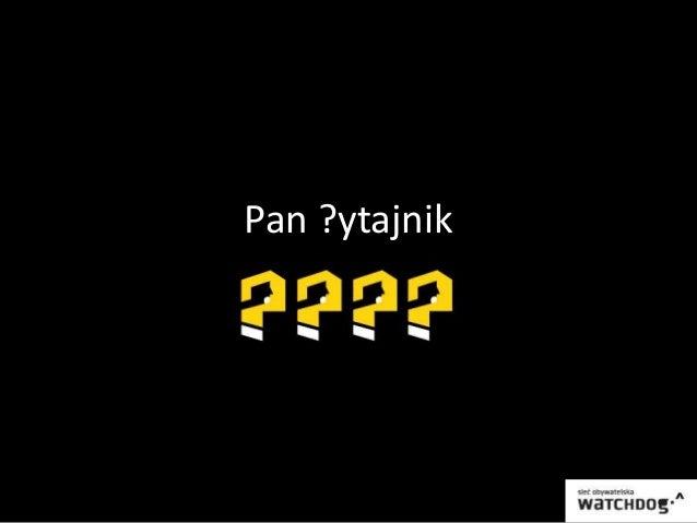 Pan ?ytajnik