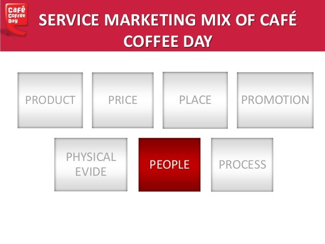 product mix of cafe coffee day A coffee shop keywords: service marketing mix, consumer behavior,  demographic  product and the frequency of visit at coffee shop   coffee  world in bangkok such as every day, 1-2 times per week • preferred.