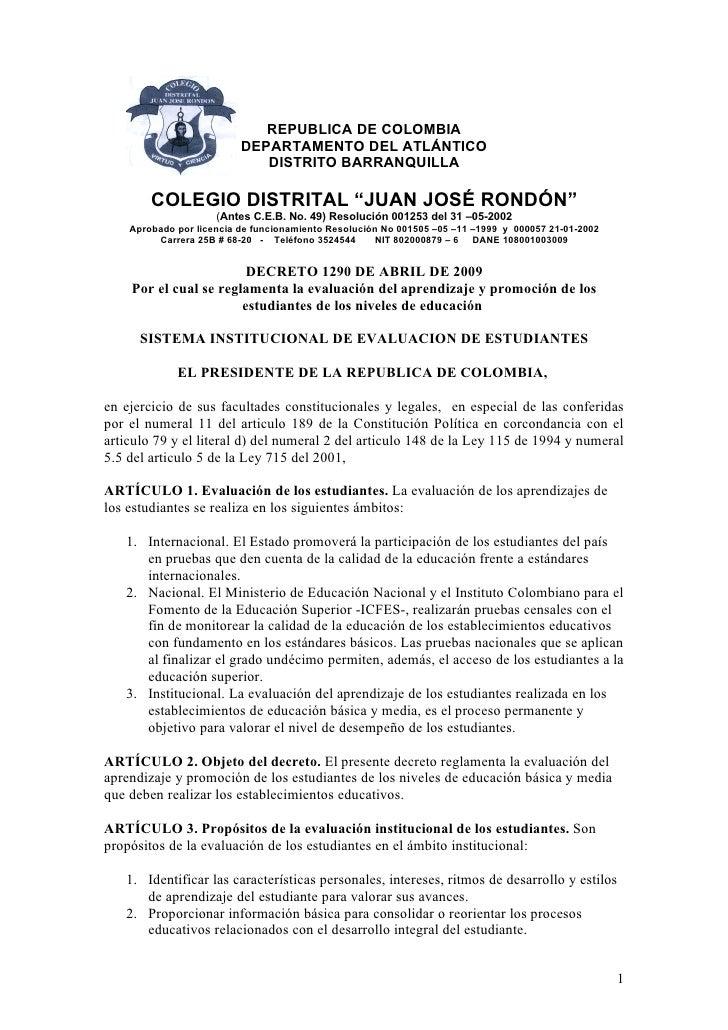 REPUBLICA DE COLOMBIA                           DEPARTAMENTO DEL ATLÁNTICO                              DISTRITO BARRANQUI...